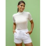Camiseta T-shirt Eunice - Branco