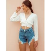 Short  Jeans Destroyed  - Aline