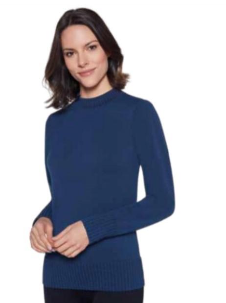 Blusa Degrade Ampla Azul