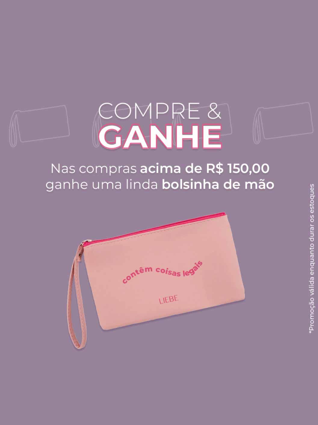 Bolsa de Mão - Liebe