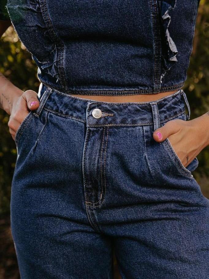 Calça Feminina Slouchy Jeans