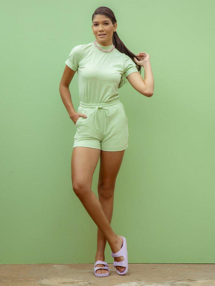 Camiseta T-shirt Alicia - Verde