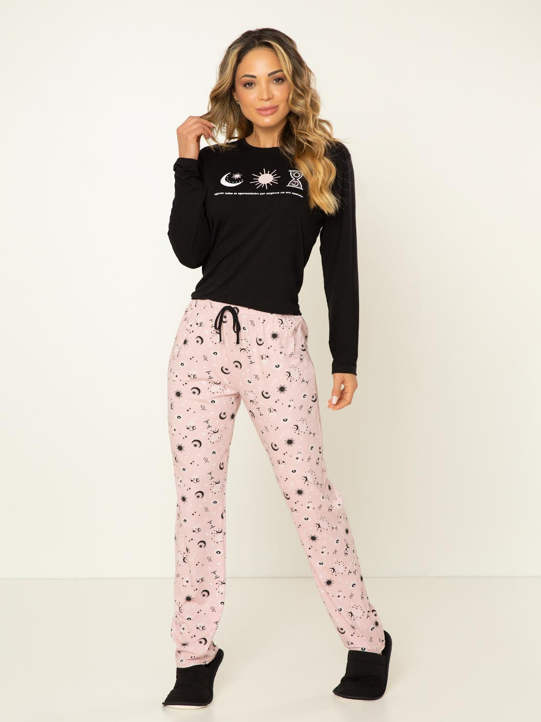 Pijama Manga Longa - Místico