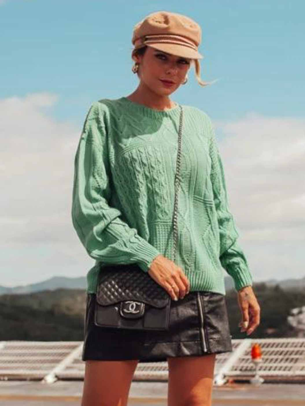 Tricô Textura Nani - Verde