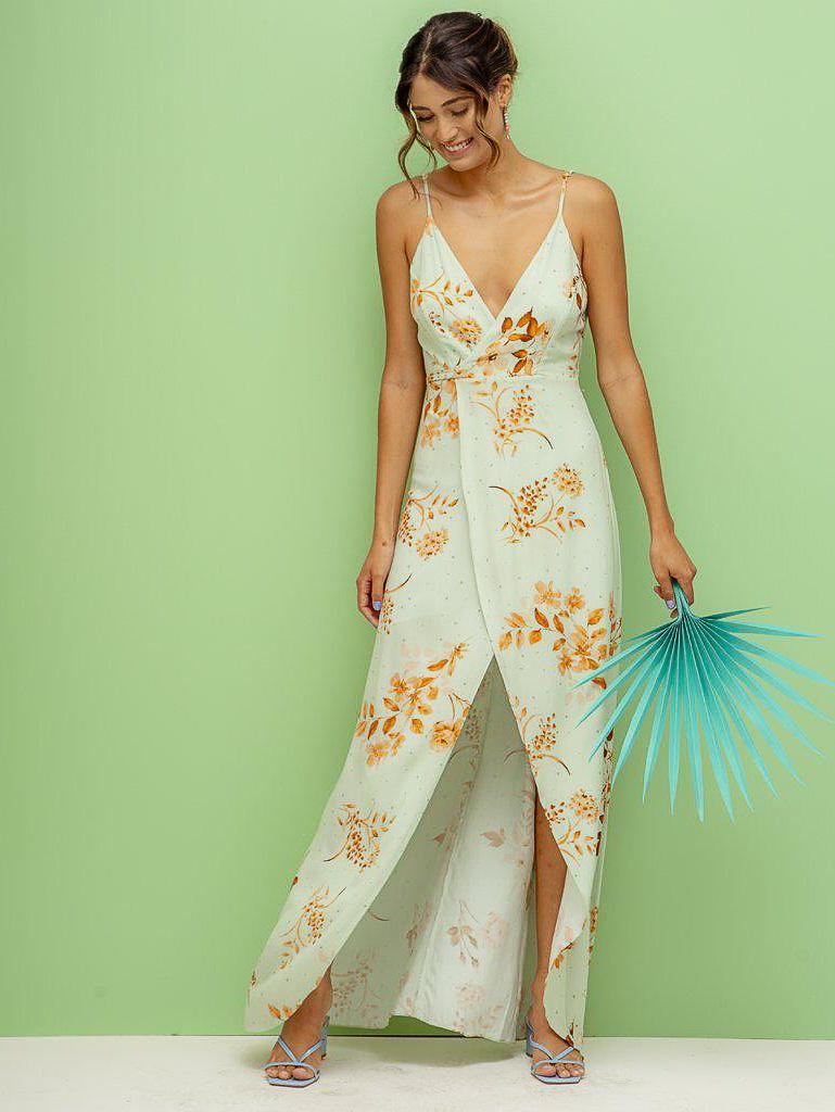 Vestido Glória - Estampado