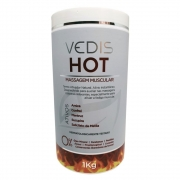 Creme Hot Massagem Muscular 1 Kg - Vedis