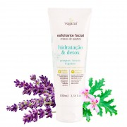 Esfoliante Facial Hidratação e Detox 100ml - Vegana WNF