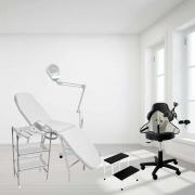 Kit Monte sua Clínica Standart - Móveis + Equipamentos para Limpeza de Pele Profissional