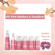 Kit Pele Madura e Saudável - Skincare Completo para Renovar Peles com Sinais de Envelhecimento