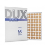 Placa Ponto Prata para Auriculoterapia 60unid - Dux Acupuncture