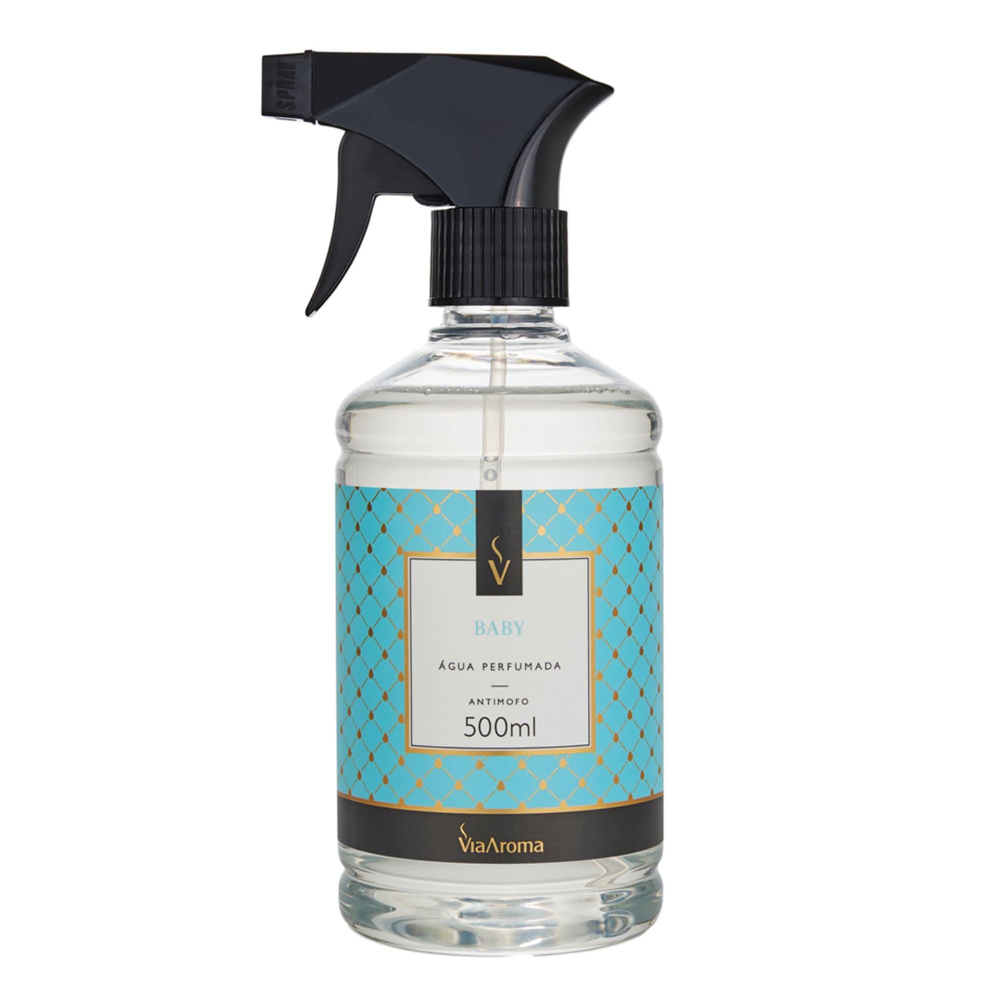 Água Perfumada para Tecidos 500ml - Baby