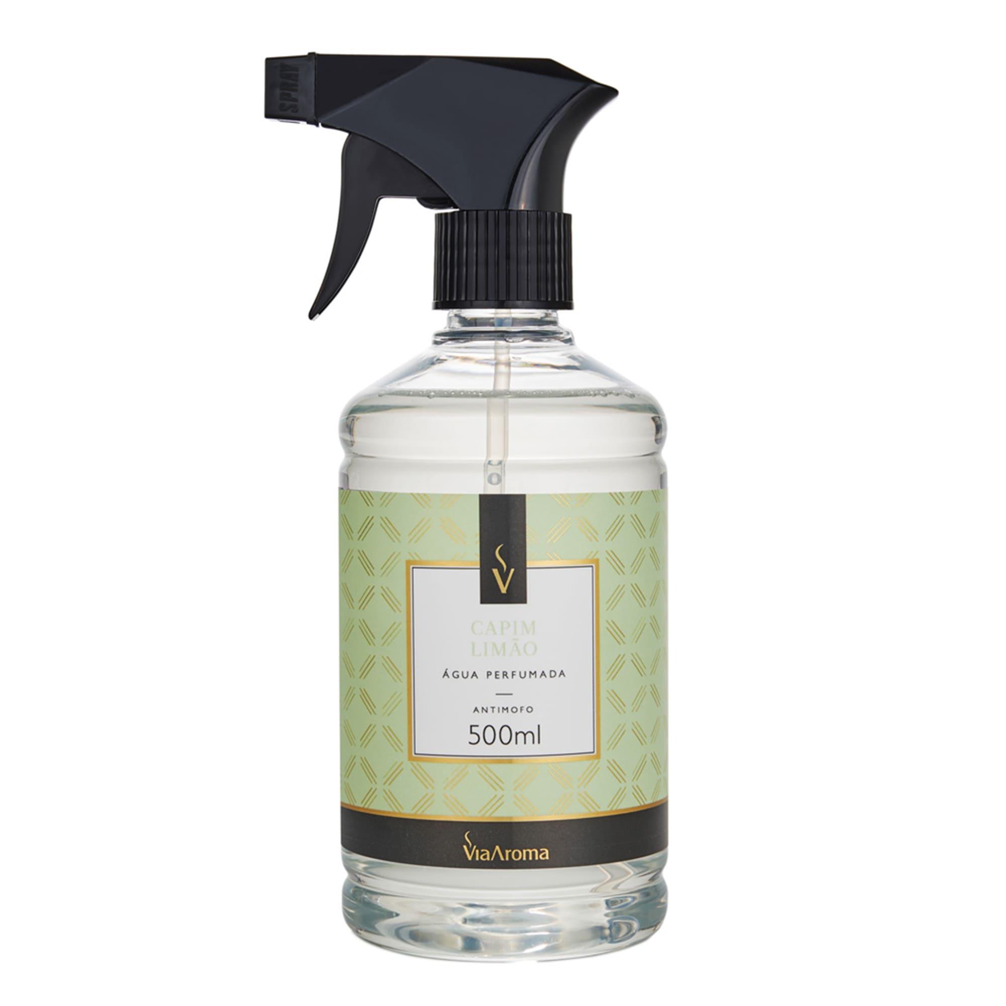 Água Perfumada para Tecidos 500ml - Capim Limão