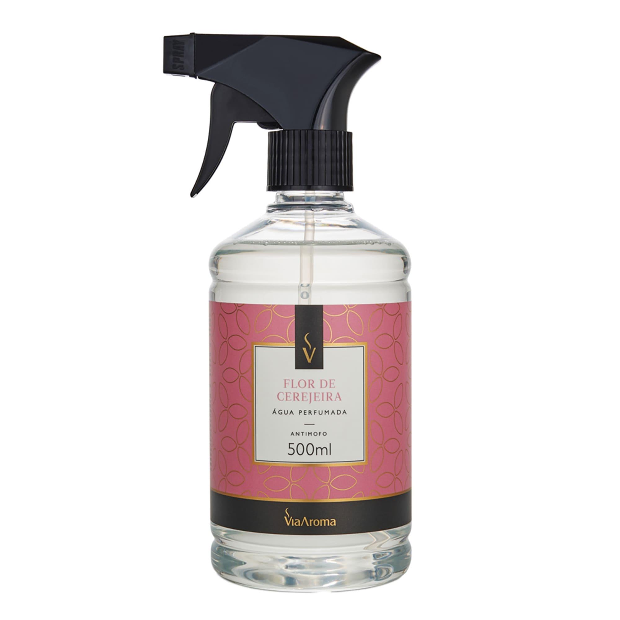 Água Perfumada para Tecidos 500ml - Flor de Cerejeira