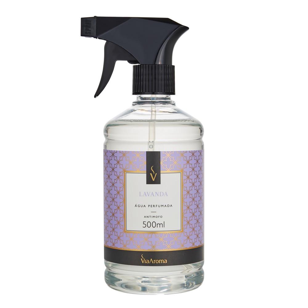 Água Perfumada para Tecidos 500ml - Lavanda