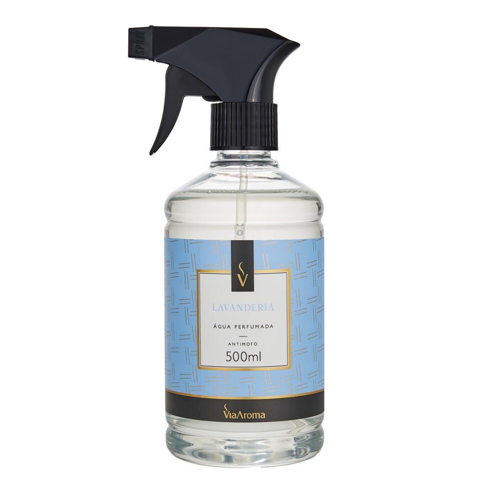 Água Perfumada para Tecidos 500ml - Lavanderia