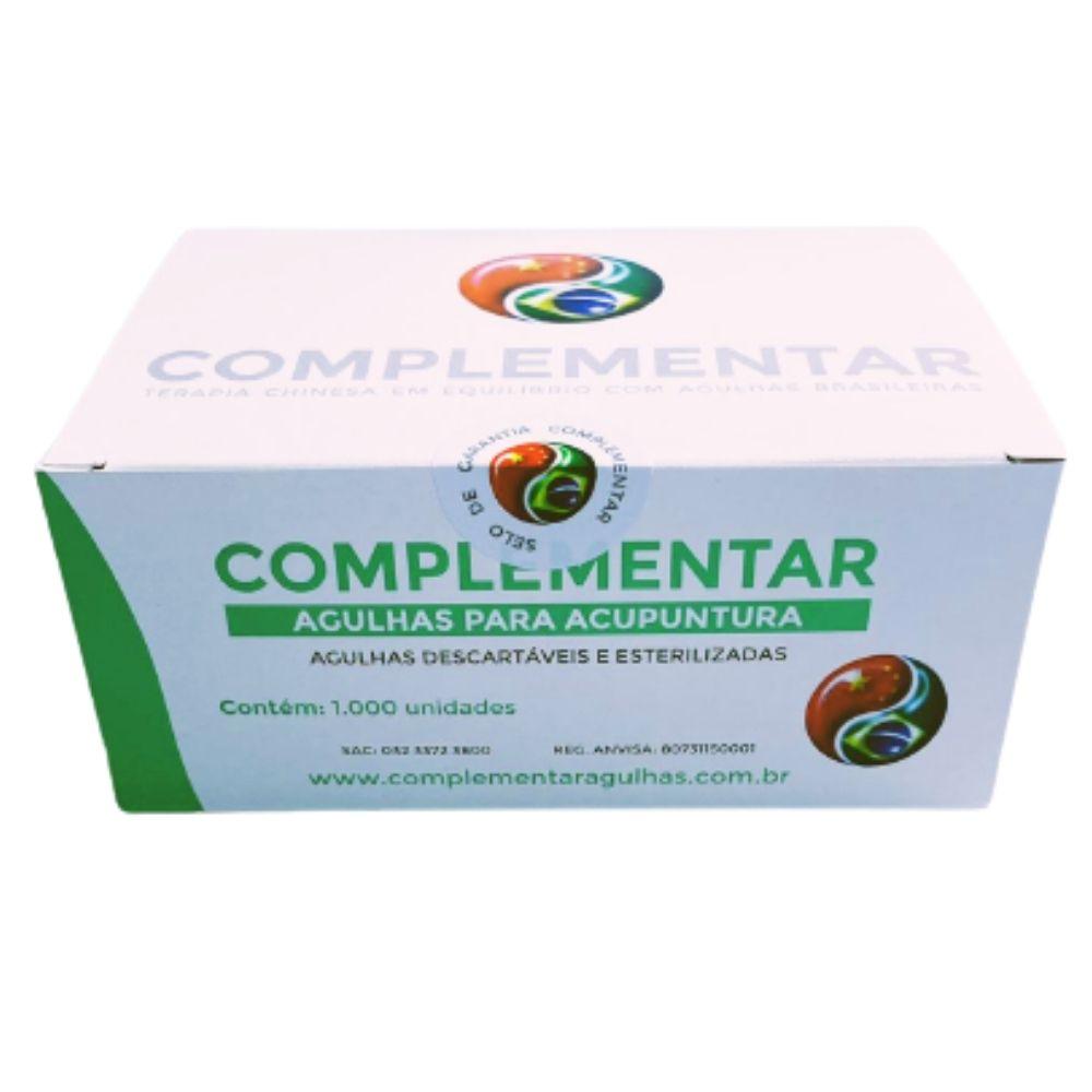 Agulha Sistêmica Caixa C/1000 Unid - Complementar
