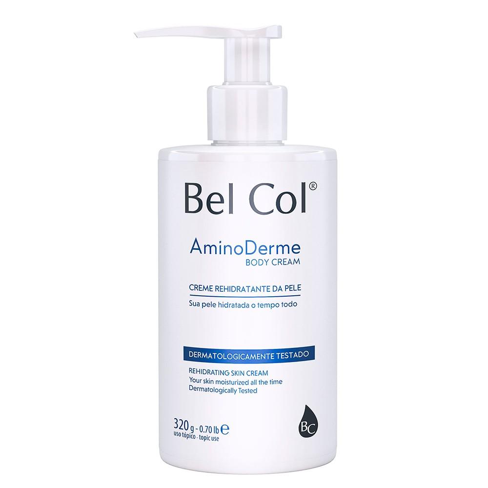 Aminoderme Body Cream 320g |Bel Col Cosméticos