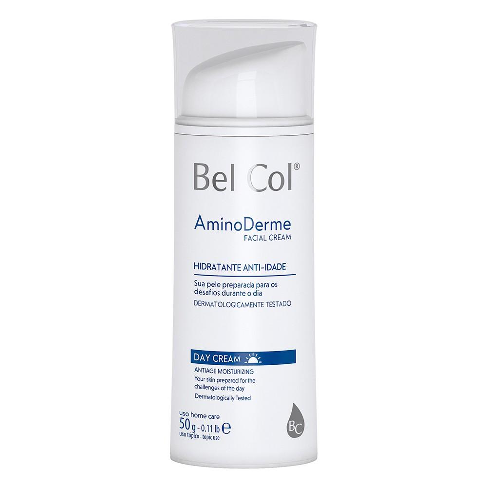 Aminoderme Day Cream 50g | Bel Col Cosméticos