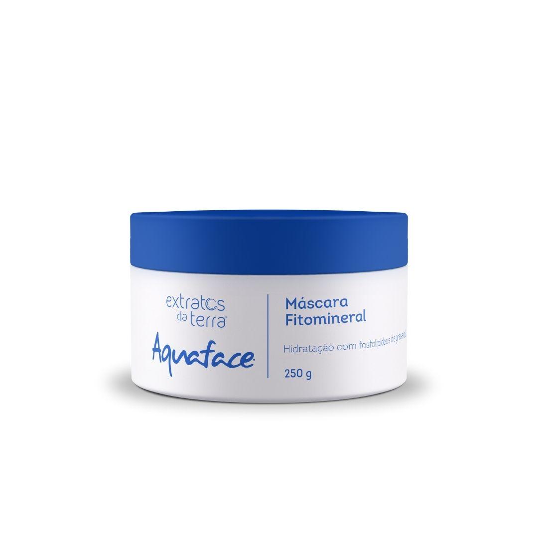 Aquaface Mascara Fitomineral 250g - Extratos da Terra