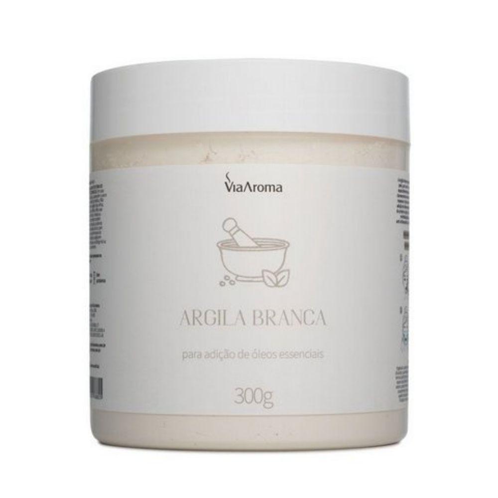 Argila Branca 300g - Via Aroma