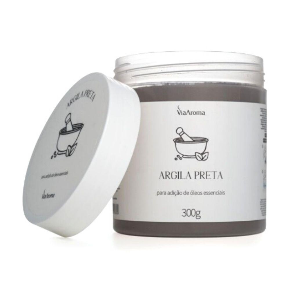 Argila Preta 300g - Via Aroma