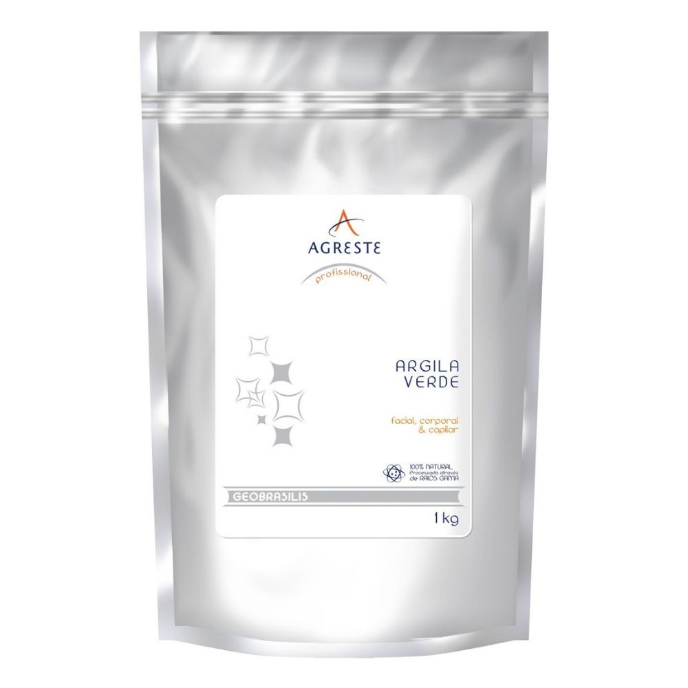 Argila Verde 1kg - Agreste