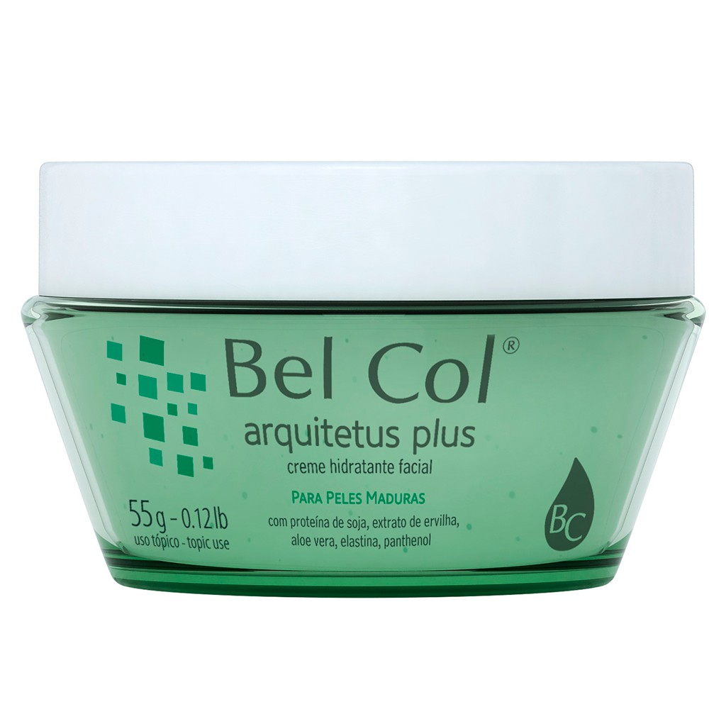 Arquitetus Plus - Creme Hidratante Facial 55g | Bel Col Cosméticos