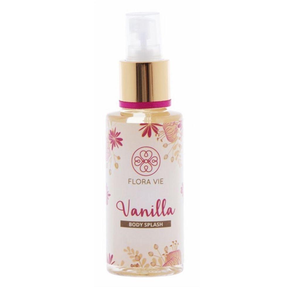 Body Splash Vanilla 140ml - Flora Vie