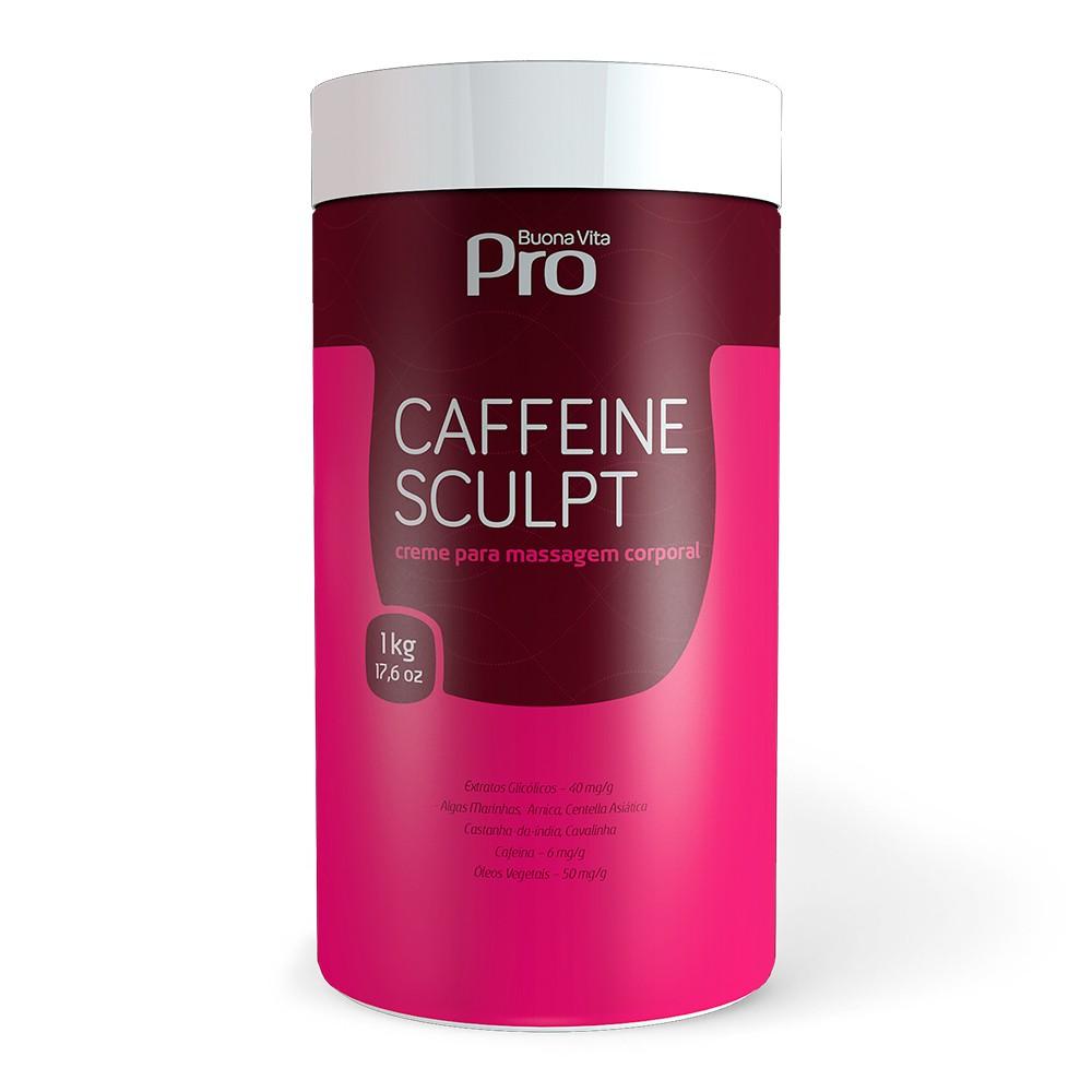 Caffeine Sculpt - Creme Redutor de Medidas, Celulite, Flacidez e Estrias 1kg | Buona Vita Cosméticos