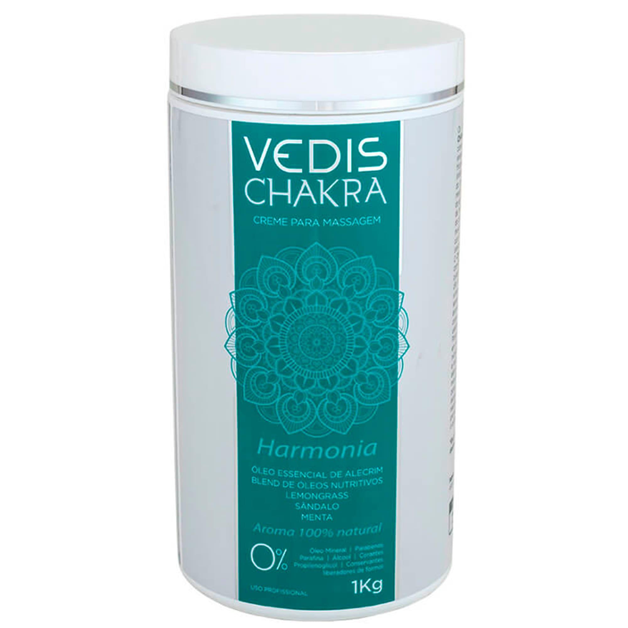 Creme Para Massagem Chakra (Harmonia) 1kg - Vedis
