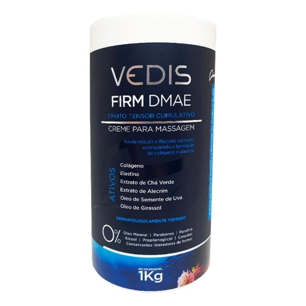 Creme Para Massagem Firm Dmae 1kg - Vedis