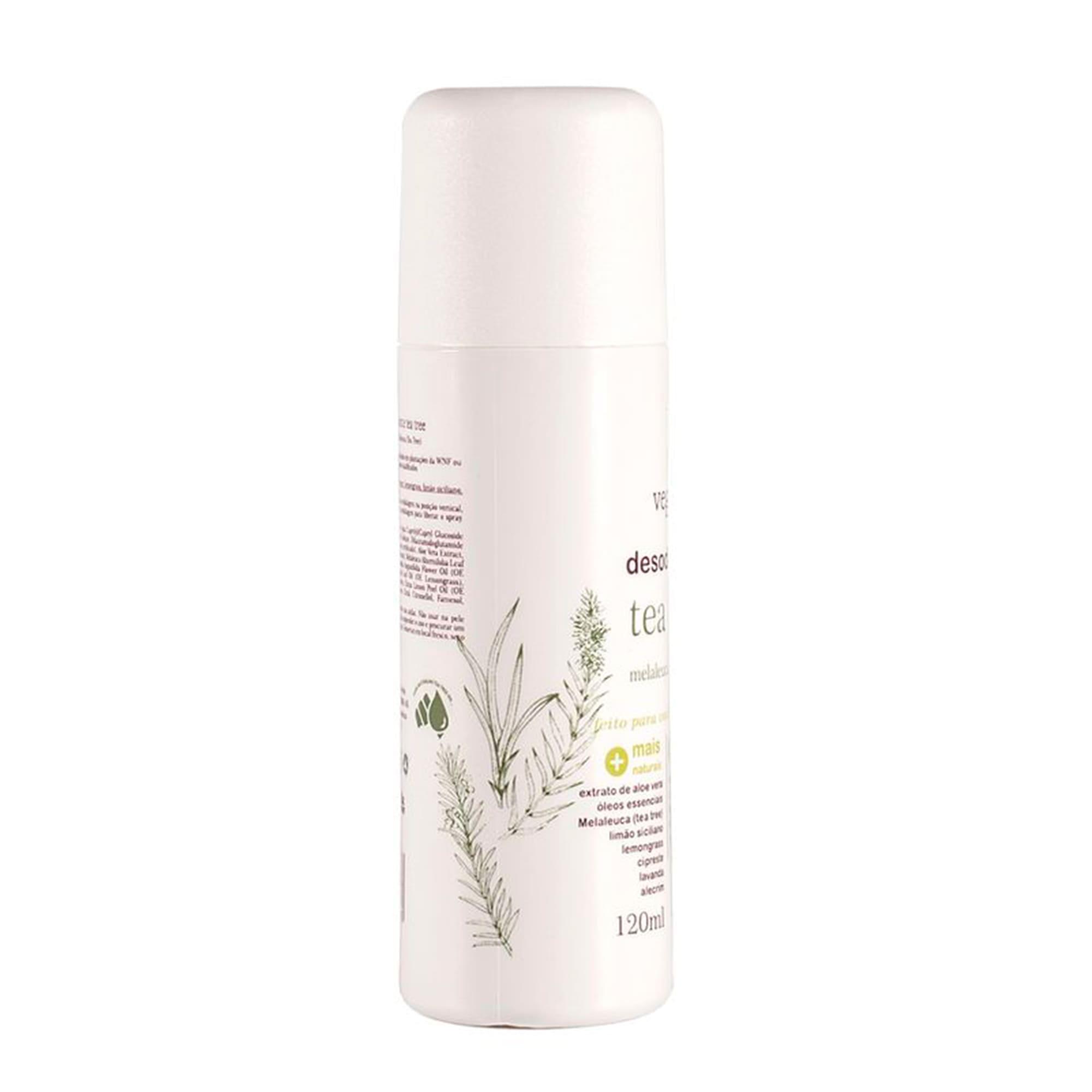 Desodorante Tea Tree 120ml - Vegana WNF