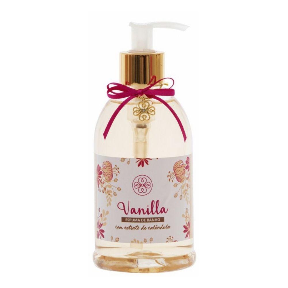 Espuma Banho Vanilla 380ml - Flora Vie