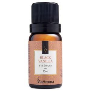 Essência de Black Vanilla 10ml - Via Aroma