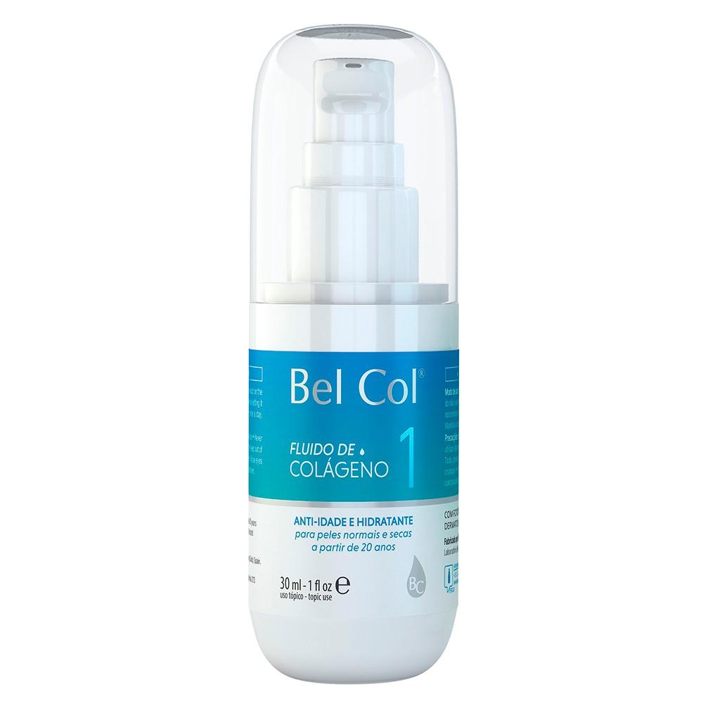 Fluido de Colágeno 1 para Peles peles Normais e Secas 30ml - Bel Col