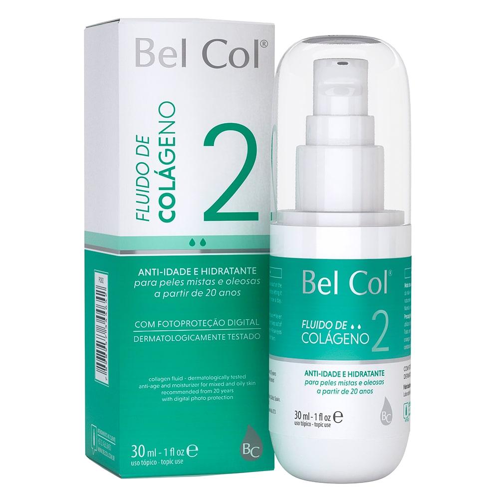 Fluido de Colágeno 2 para Peles Mistas e Oleosas 30ml - Bel Col