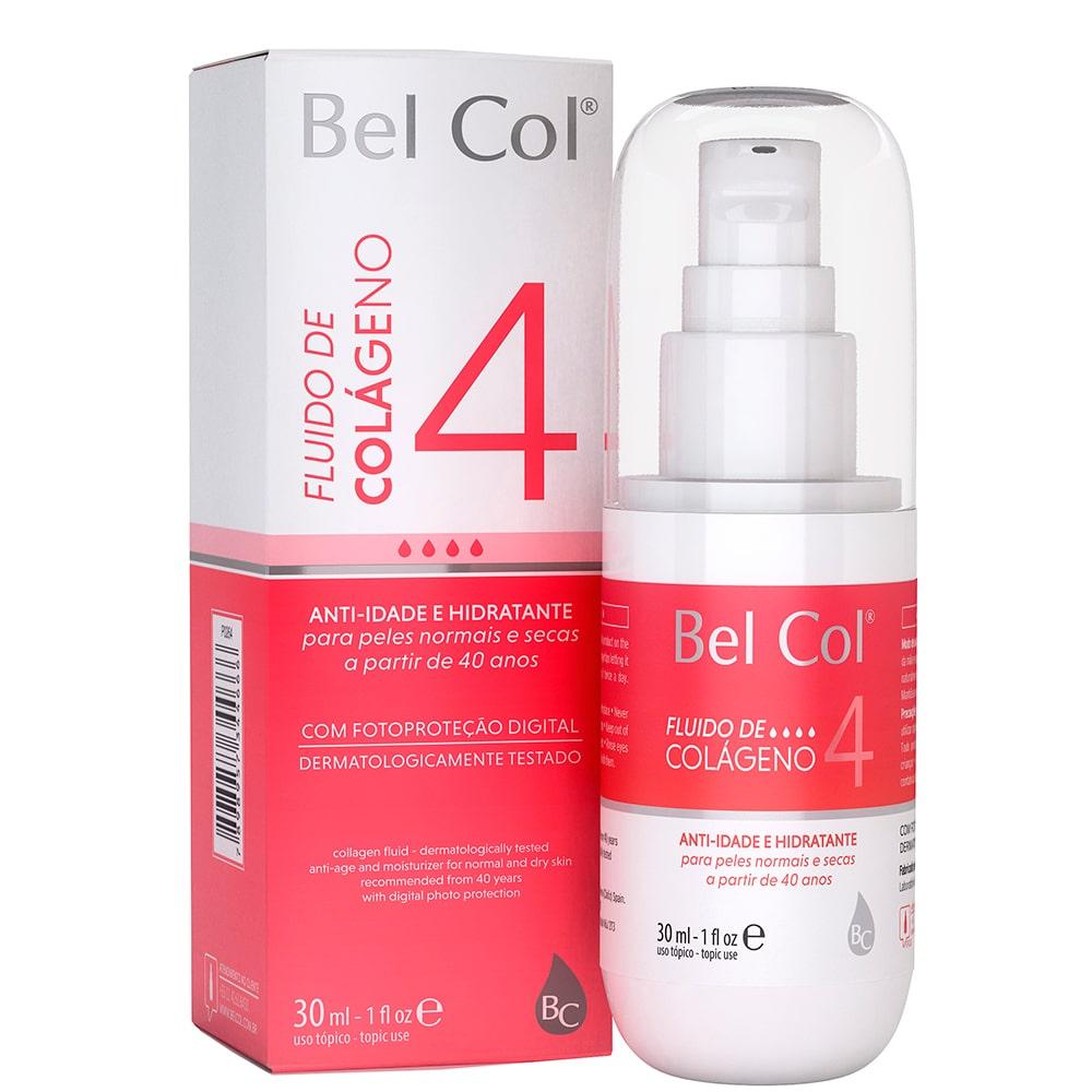 Fluido de Colágeno 4 para Peles Normais e Secas 30ml - Bel Col
