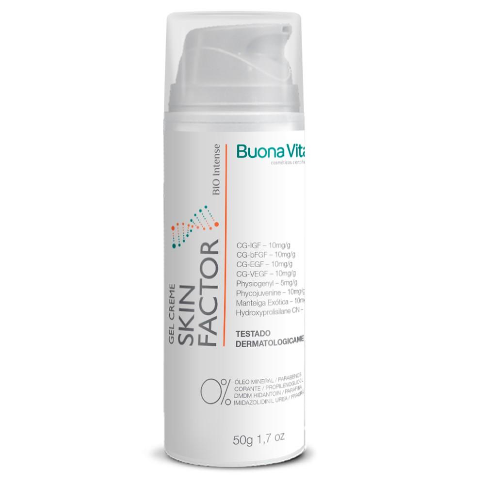 Gel Creme Skin Factor 50g | Buona Vita Cosméticos