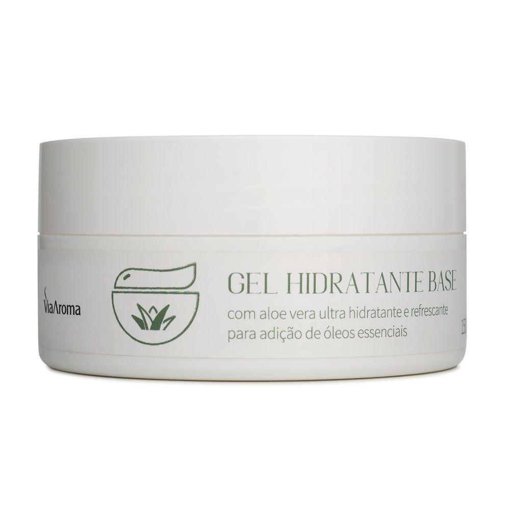 Gel Hidratante Base Neutro 150g - Via Aroma