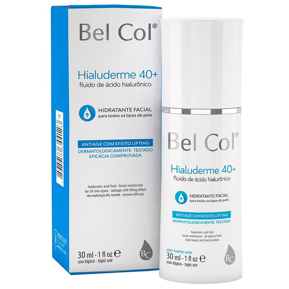 Hialuderme 40+ Fluido de Ácido Hialurônico 30ml - Bel Col