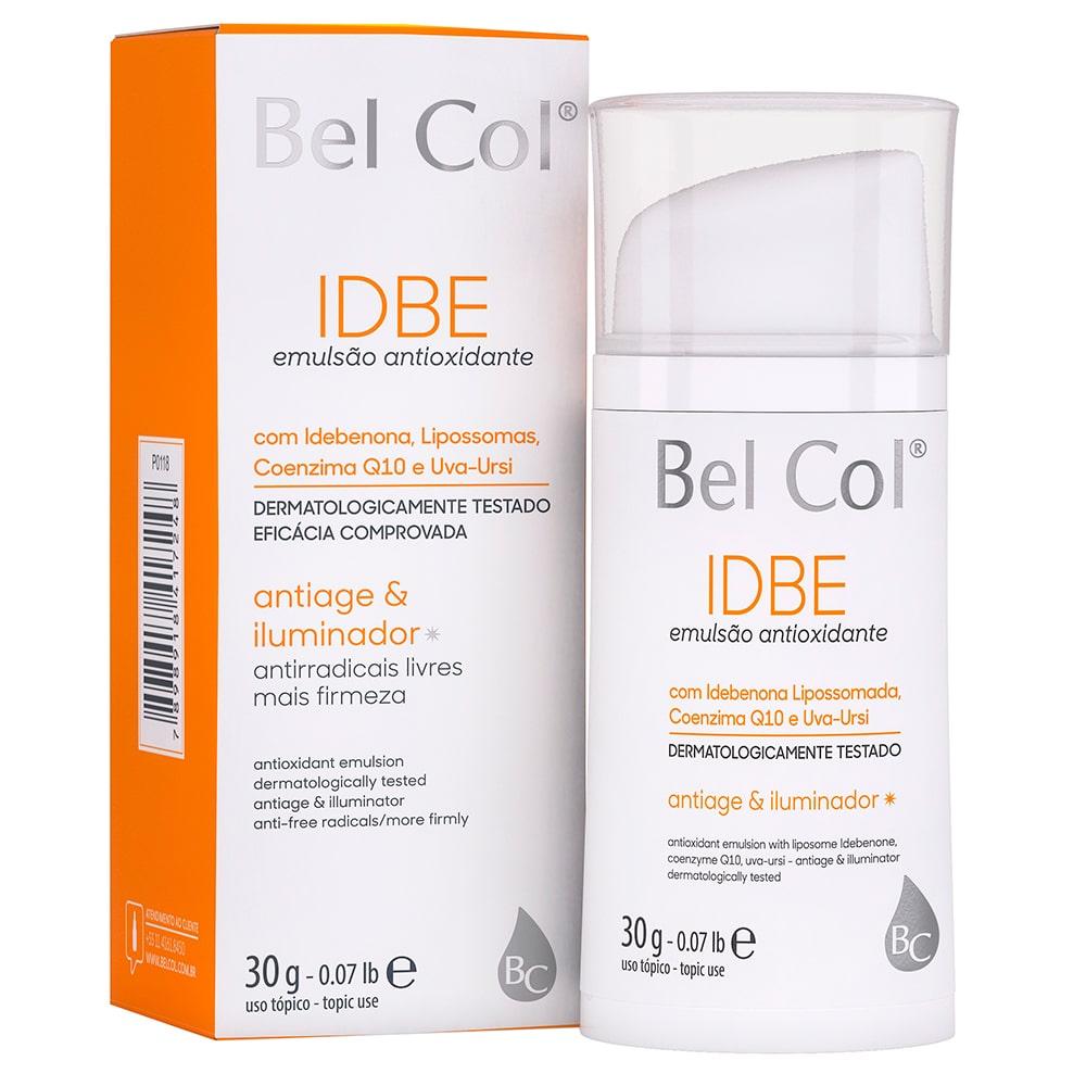 IDBE Emulsion - Emulsão com Idebenona Lipossomada 30g |Bel Col Cosméticos