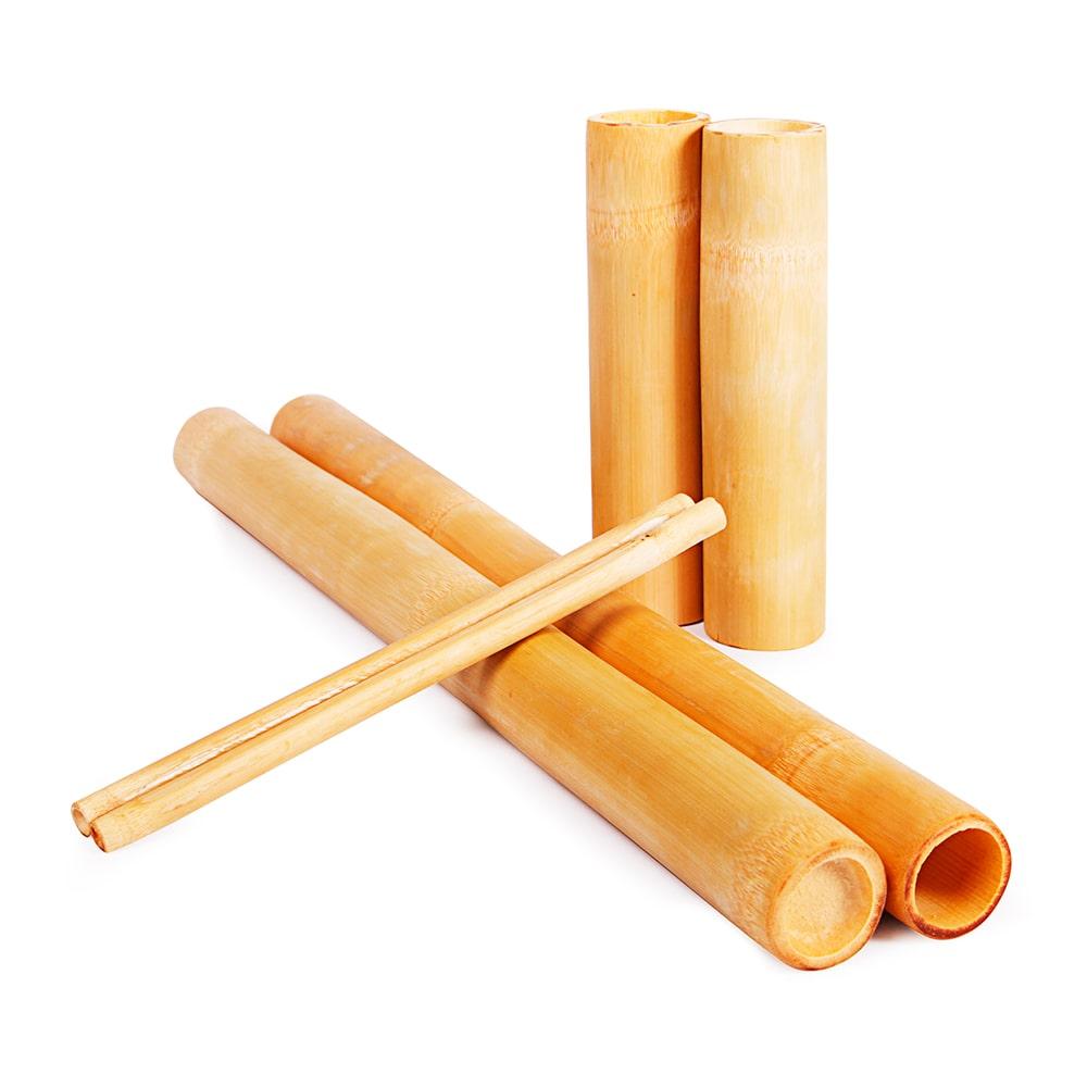 Kit Bamboo para Massagem | Estética e Cia