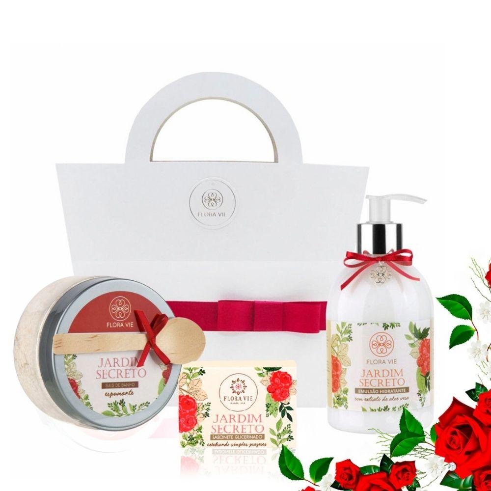 Kit Pele Macia Jardim Secreto - Flora Vie