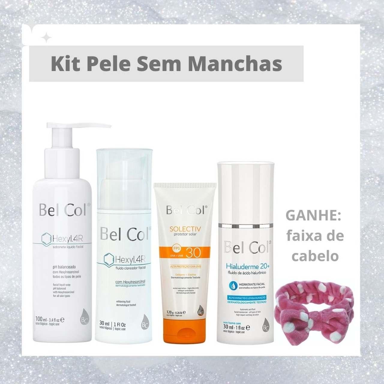 Kit Pele Sem Manchas - Skincare Completo Para Pele Uniforme