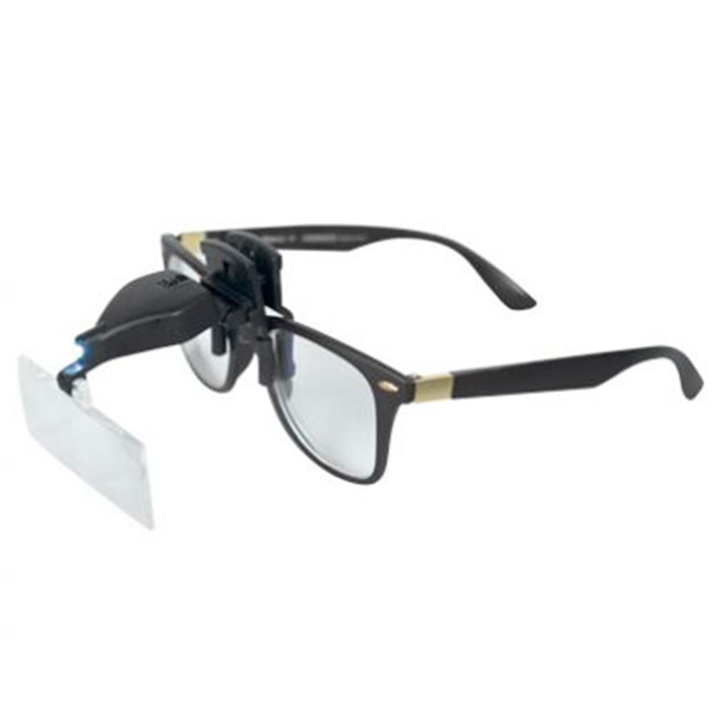 Lupa de Apoio de Óculos - Vision Eye LED | Estek