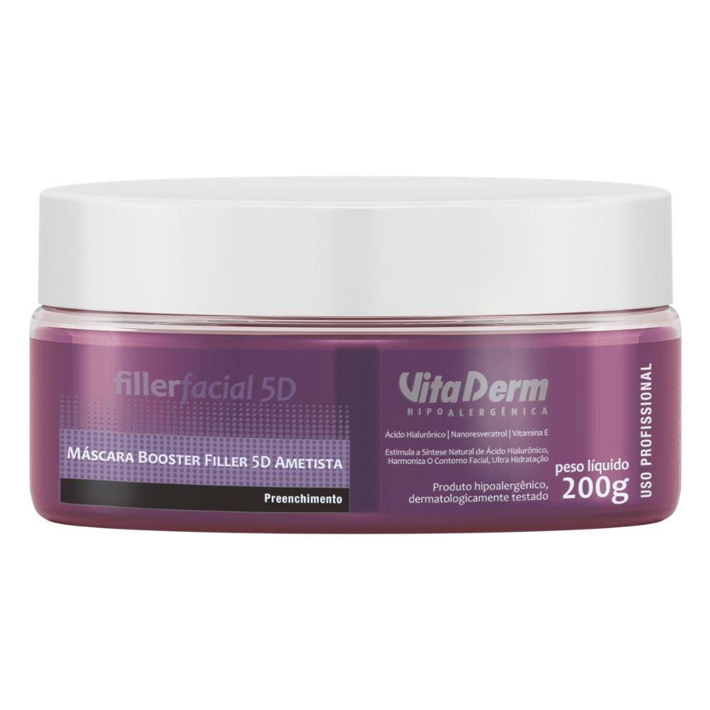 Máscara Facial Booster Filler 5d Ametista 200g - Vita Derm