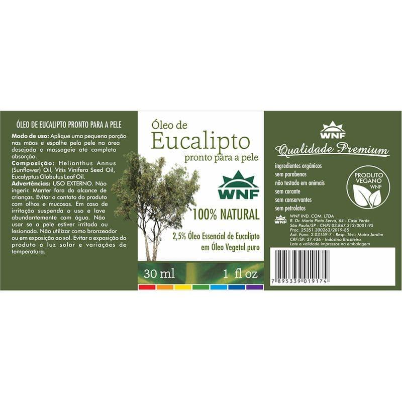 Óleo de Eucalipto 30 ml - Pronto para a pele - WNF