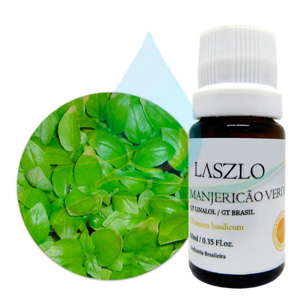 Óleo Essencial de Manjericão Verde (Linalol) 10,1ml - Laszlo