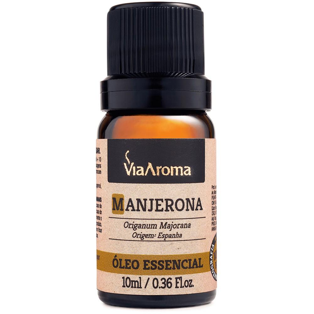 Óleo Essencial de Manjerona 10ml - Via Aroma