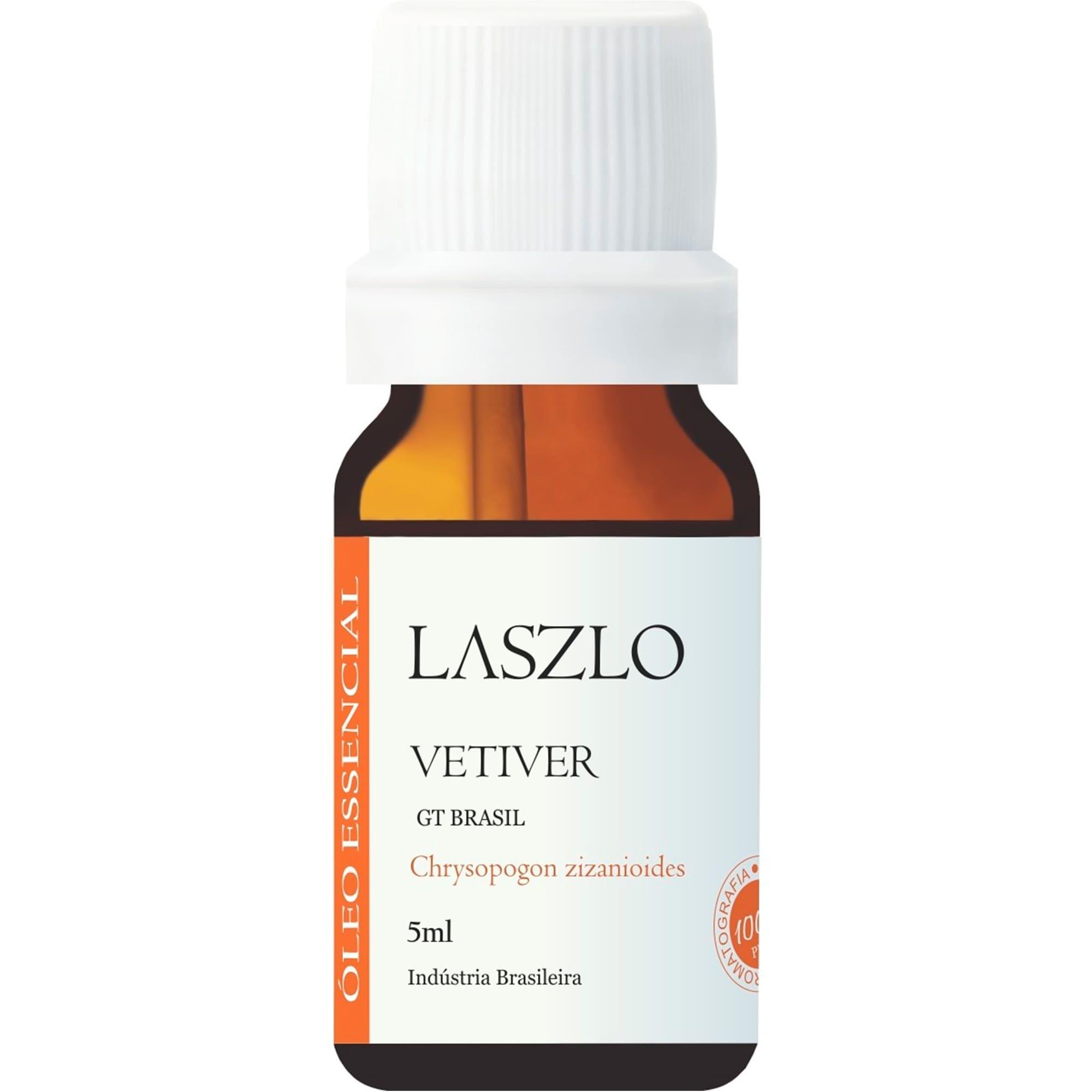 Óleo Essencial de Vetiver (GT Brasil) 5ml - Laszlo